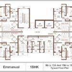 Suraj Emmanuel Plan - 1 BHK