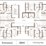 Suraj Emmanuel Plan - 2 BHK